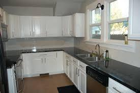 White Backsplash Tile For Kitchen Brick Tile Kitchen Backsplash Best Painted Brick Ideas On White