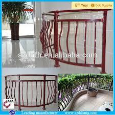 modern iron railing designs prefab metal stair railing wrought