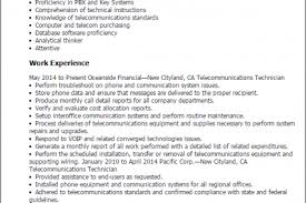 Industrial Engineer Sample Resume by Telecom Engineer Resume Sample Reentrycorps
