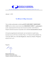 authorization letter ph insurance direct download authorization letter