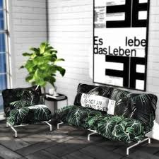 spring4sims fluffy loft sofa set for the sims 4