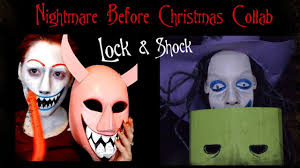 Nightmare Before Christmas Halloween Makeup by Nightmare Before Christmas Shock Makeup Youtube
