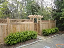 Types Of Garden Fencing Wood Fence