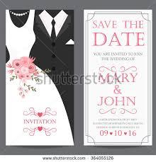 groom to wedding card wedding invitation card groom dress stock vector 364055126