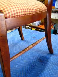 How To Paint Wooden Chairs by How To Repair Wood Furniture That Has Been Chewed By A Pet How