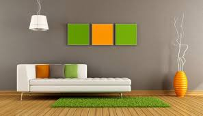 Simple Wall Paintings For Living Room Home Wall Painting