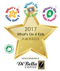 what s what s on 4 little ones di bella coffee what s on 4 kids awards 2017