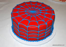 birthday cake ideas pictures of spiderman birthday cake unique