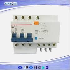 3p n earth leakage circuit breaker switch 6 63a overload