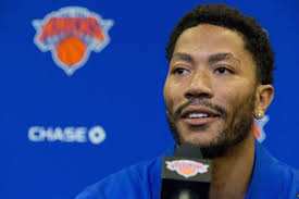 derrick rose says knicks most talented team he s ever played on