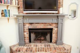 dress up your living room with a diy fireplace mantel southern