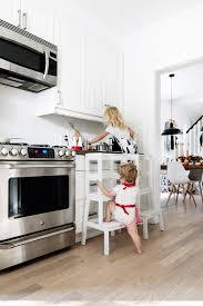 kitchen helper stool ikea ikea hack diy learning tower using the inexpensive ikea bekväm