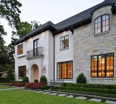 transitional house style the french country transitional style architecture of this home is