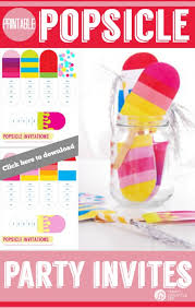 printable party invitations popsicle party printables today s creative