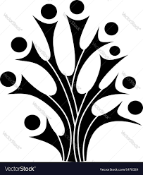 tree symbol family tree symbol royalty free vector image vectorstock