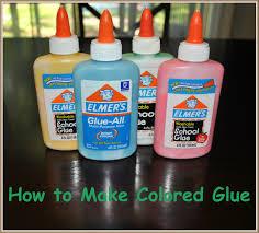 how to make colored glue for crafts u2013 crafts 4 boys