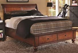 aspen cambridge bedroom set aspenhome aspenhome cambridge full sleigh storage bed in brown