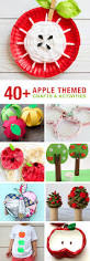 40 apple themed crafts and activities the craft train