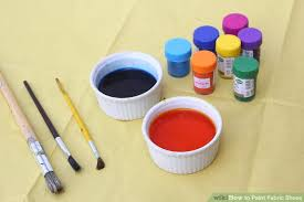 3 ways to blend acrylic paint wikihow how to paint fabric shoes with pictures wikihow