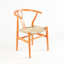 mid century modern reproduction ch24 wishbone y chair