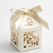 wedding favours ivory filigree butterflies lasercut wedding favour boxes wedding