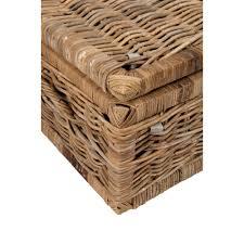 furniture wicker storage coffee table wicker trunk cedar