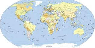 World Map Countries World Map A Clickable Map Of World Countries In Map