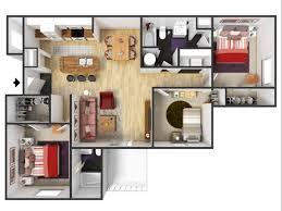 Three Bedroom Apartments Charlotte Nc 3 Bed 2 Bath Apartment In Charlotte Nc The Grayson Apartment