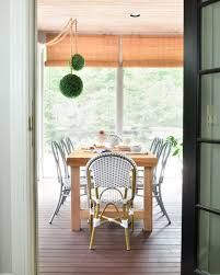 Build Dining Room Chairs Screened Porch Updates Metal Bentwood Chairs And A Diy Dining