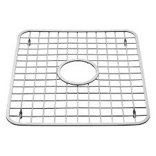 How To Measure Kitchen Sink by Amazon Com Interdesign Gia Kitchen Sink Protector Wire Grid Mat