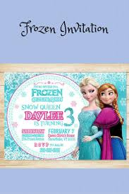 the 25 best frozen invitations ideas on pinterest frozen party