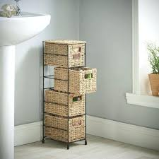 Storage Drawers Bathroom Slim Storage Tower Slim Storage Cabinet 3 Drawer Slim Tower