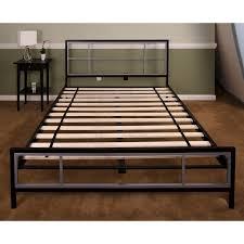 metal bed frame queen hillside landscaping and mattress