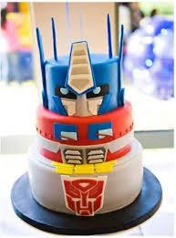optimus prime birthday party optimus prime birthday cake reha cake