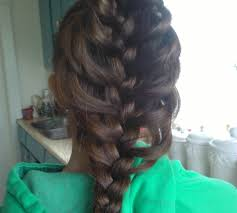 how to create a cage braid 5 steps