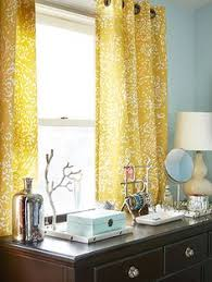 Yellow Bedroom Curtains Hlc Me 2 Sheer Window Curtain Grommet Panels Bright Yellow