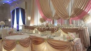 Toronto Wedding Decorator Mapleleaf Decorations Pink And Champagne Victorian Wedding