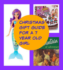 a gift guide for a 7 year family budgeting