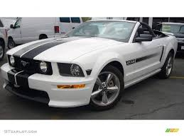 white 2009 mustang 2009 performance white ford mustang gt cs california special