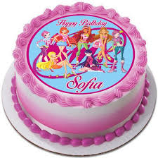 sofia the cake topper winx club edible cake topper cupcake toppers edible prints on