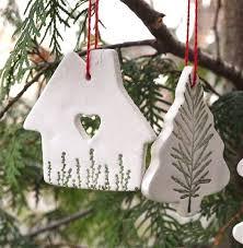 clay ornaments chrismas 2017