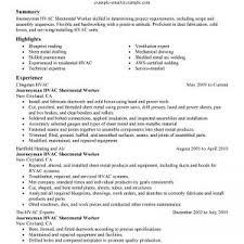 Refrigeration Technician Resume Hvac Technician Resume Examples And Refrigeration Maintenance Hvac
