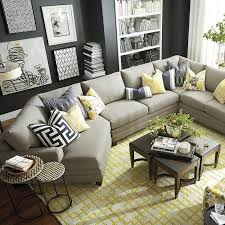 Small Living Room With Sectional Sectional In Small Living Room Adenauart Com