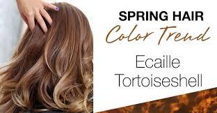 ecaille hair trends for 2015 spring hair trend alert ecaille tortoiseshell hair color simply