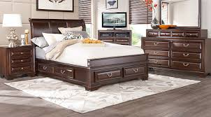 Cherry Bedroom Furniture Set Affordable Queen Bedroom Sets For Sale 5 U0026 6 Piece Suites