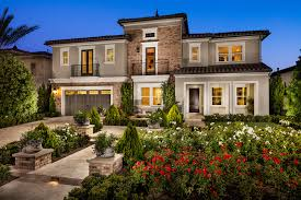 Enclave At Yorba Linda The Cassero CA Home Design - Decorated model homes