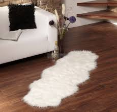 Wolf Area Rugs by Large Faux Fur Rug Rugs Ideas