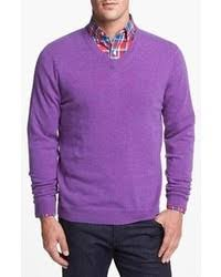 purple sweater how to wear a purple sweater 35 looks s fashion