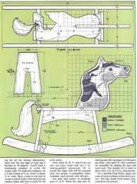 free rocking horse woodworking plans from shopsmith wood working