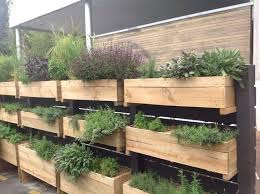 Deck Garden Ideas Herb Garden For Deck Lawn Apartment Herb Garden Balcony Ideas With
